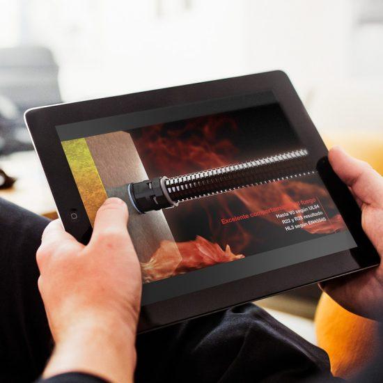 produccion de video industrial barcelona 550x550 - Vídeo de presentación de producto industrial